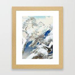 The Snows at Kenn Framed Art Print