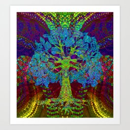 Tree of Life Boundless Enthusiam Art Print