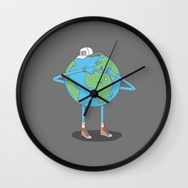 Pop It Wall Clock