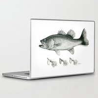 bass Laptop & iPad Skins featuring Bass by Newmanart7 -- JT and Nancy Newman, Art a