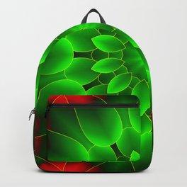 Mandala Green Backpack