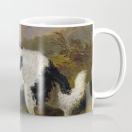 Edwin Landseer -  Lion A Newfoundland Dog Coffee Mug