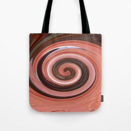 Swirl 01- Colors of Rust / RostArt Tote Bag