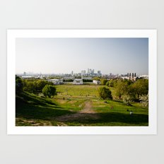 Greenwich park Art Print