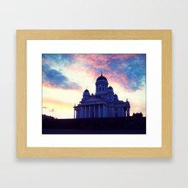 Helsinki Cathedral Framed Art Print