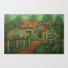 Country Cottage AC160826a Canvas Print