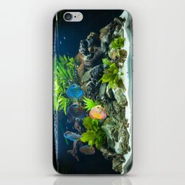 Aquarium fishes  iPhone Skin