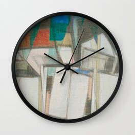 Stilt House 1 Wall Clock