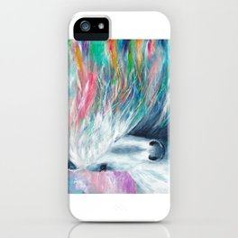 Rainbow Horse iPhone Case