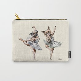 Hipster Ballerinas - Dog Cat Dancers Carry-All Pouch