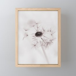 Dandelion Dream Framed Mini Art Print