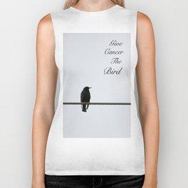 Give Cancer the Bird 2 Biker Tank