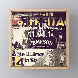 Jameson Irish Whiskey Framed Mini Art Print