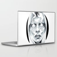 coven Laptop & iPad Skins featuring Blind by Iris Illustration