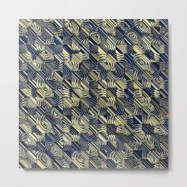 abstra shells Metal Print