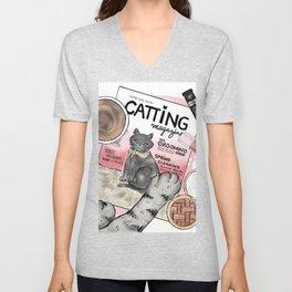 Monday Morning Essentials - featuring Catting Magazine, Spring 2018 Unisex V-Neck