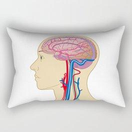 Brain Rectangular Pillow