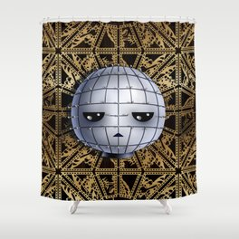 Chibi Pinhead Shower Curtain