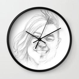 J+R Wall Clock