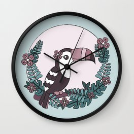 Toucan play this game Wall Clock