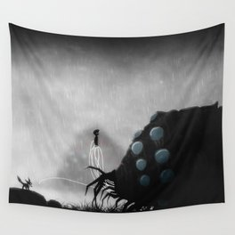 be calm ohmu Wall Tapestry