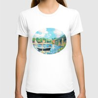 sailing T-shirts featuring Sailing by YeesArts