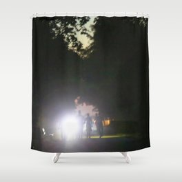 urban mystery no.2 Shower Curtain