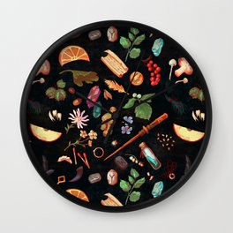 Practical Hexes Wall Clock