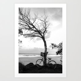 Vintage Bike 2 Art Print