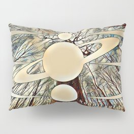 Planetary Forest Pillow Sham