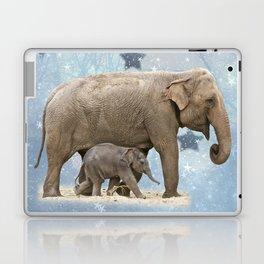Elephant with Baby Laptop & iPad Skin