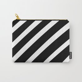 Black'n'White Stripes Carry-All Pouch