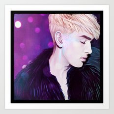 A boy like me Art Print