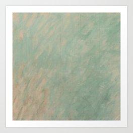 Morisot Brushmarks Art Print