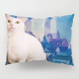 The tale of Tyche the white kitty Pillow Sham
