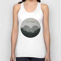 twin peaks Tank Tops featuring Twin Peaks by avoid peril