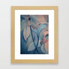 FLOWER POWER - Floral Ballet Framed Art Print