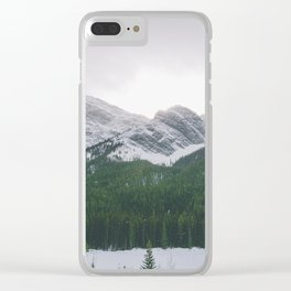 Sun Over The Trees Clear iPhone Case