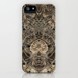 Tracery Mantis iPhone Case
