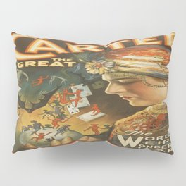 Vintage poster - Carter the Great Pillow Sham