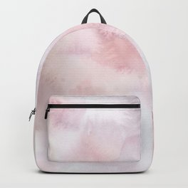Elegant blush pink lilac hand painted watercolor pattern Backpack