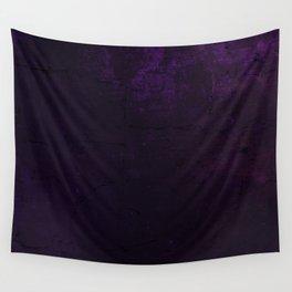 Purple Grunge Wall Tapestry