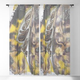 Leaf Alive Sheer Curtain