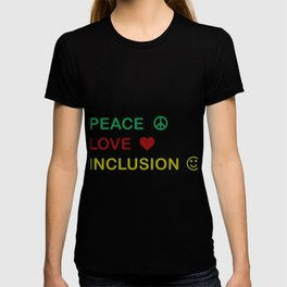 Great for all occassions Inclusion Tee Peace T-shirt