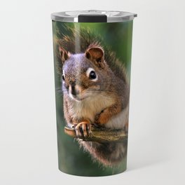 Who, Me? A Saucy Red Squirrel Travel Mug