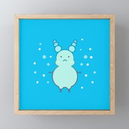Bubble Framed Mini Art Print