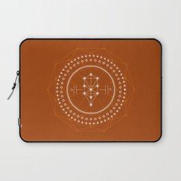 Sacred Design (Rusty Orange) Laptop Sleeve