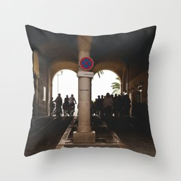 Travelers Throw Pillow