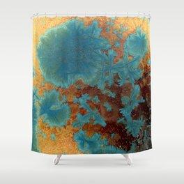 Crystal Glaze #1 Shower Curtain