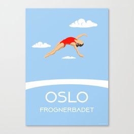 Oslo Frognerbadet II Canvas Print